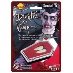Colmillos-Dientes   de Vampiro Grandes-Halloween