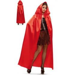 Capa roja,Unisex-Halloween o Carnaval