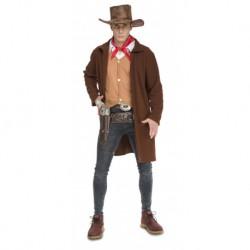 Disfraz de Vaquero con Abrigo ,talla M-L