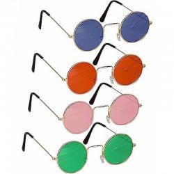 Gafas redondas años 70,  Hippie-Elton..Unisex