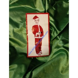 Disfraz Papa Noel. Talla 3-4 años.Navidad