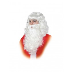Barba Papá Noel-Rey Mago..Blanca