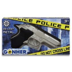 Pistola de Ganster o Policía.Metal