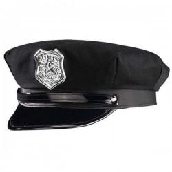 Gorra de policía negra,Unisex
