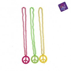 Collar Hippie,símbolo de la paz