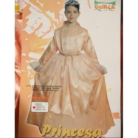 Disfraz de Princesa.Talla 4-6