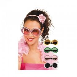 Gafas de pasta Purpurina.años 60