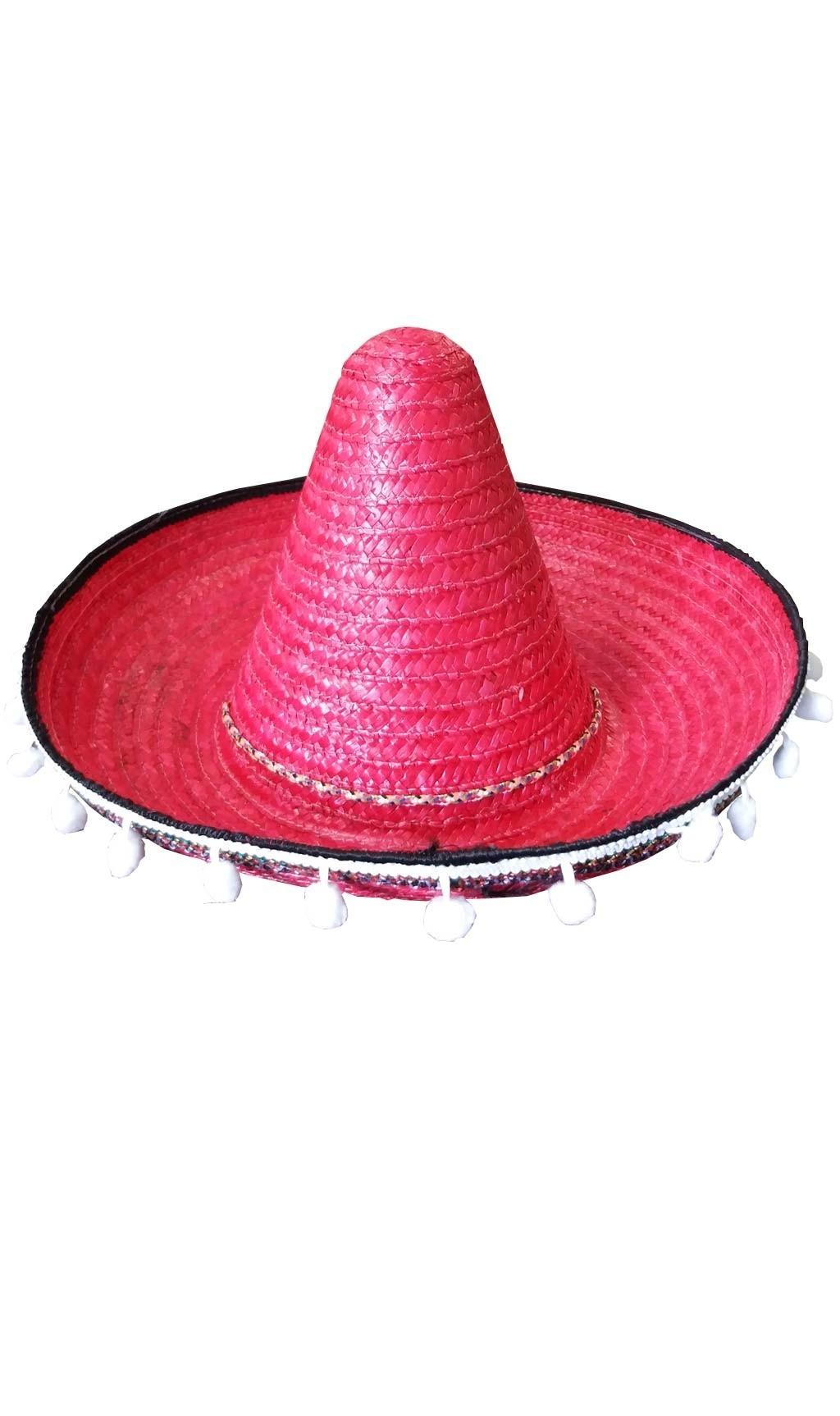 Sombrero mexicano de paja. Incluye sombrero mexicano completo para tu  disfraz de Mexico lindo. 6df35bd5efa