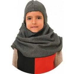 Capucha medieval niño