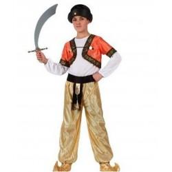 Disfraz Príncipe Árabe-Aladino-Moro-Paje...talla 5-6 años