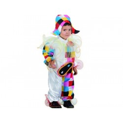Disfraz Arlequín,circo-talla 7-9