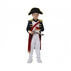 Disfraz Soldado francés o Napoleón..talla 5-6 años